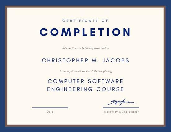 Free template . Certificate clipart training certificate