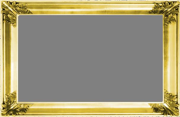 Gold border template transparentpng. Certificate frame png