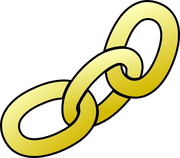 Clip art free vector. Chain clipart