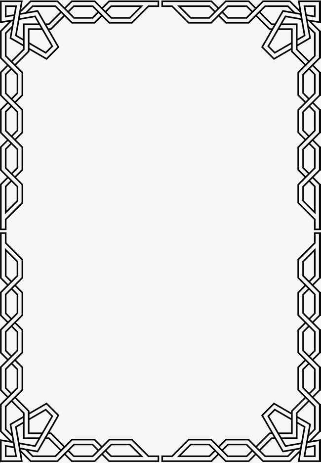 Chain clipart border. Black frame png image