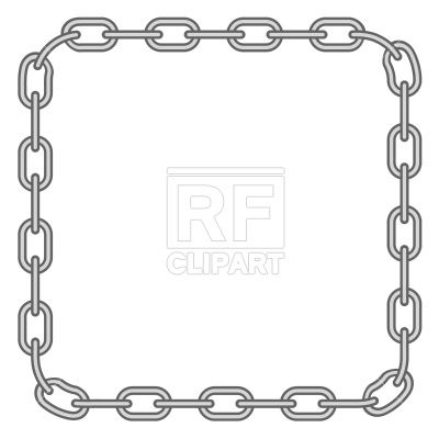 Google search sewing appliques. Chain clipart border