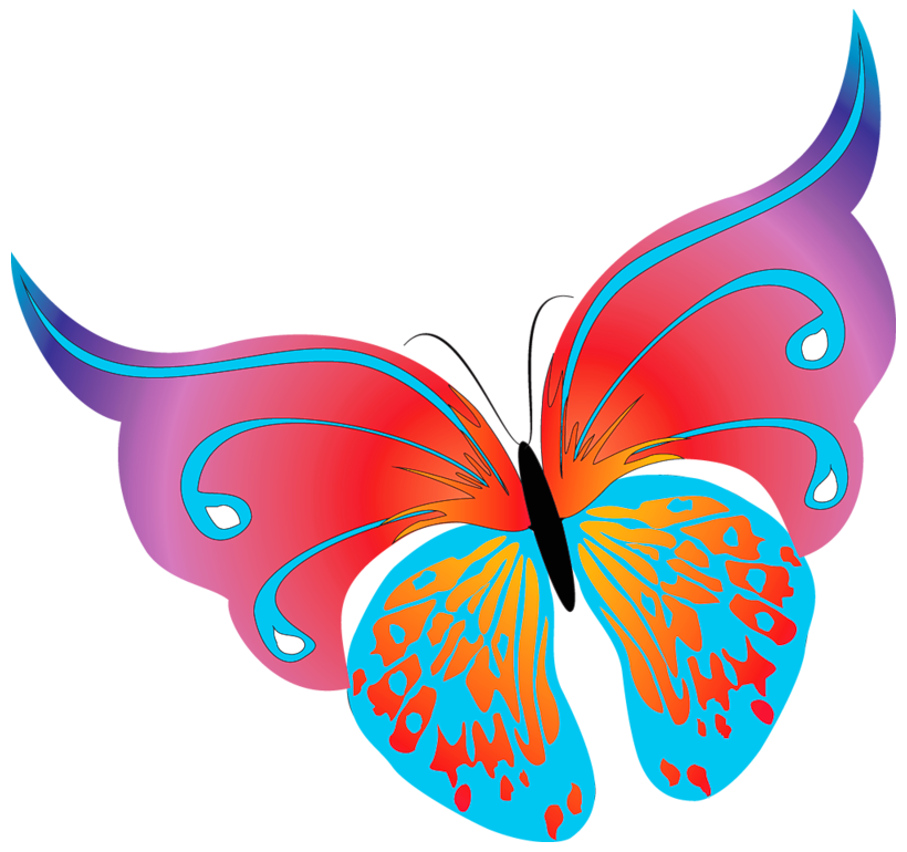 Moving clipart cookie. Free of butterflies clip