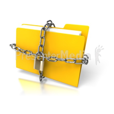 Chain clipart chained. Yellow folder up home