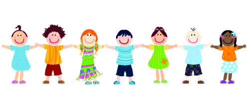 Chain clipart child. Creating customer touchpoints kids