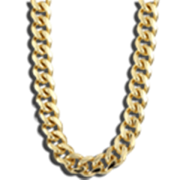 Thug life gold transparent. Chain clipart clear background
