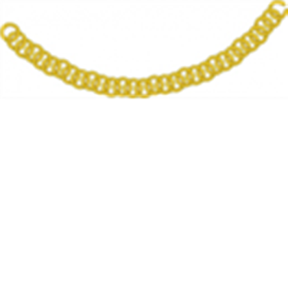 Chain clipart curved. Gold as a necklace