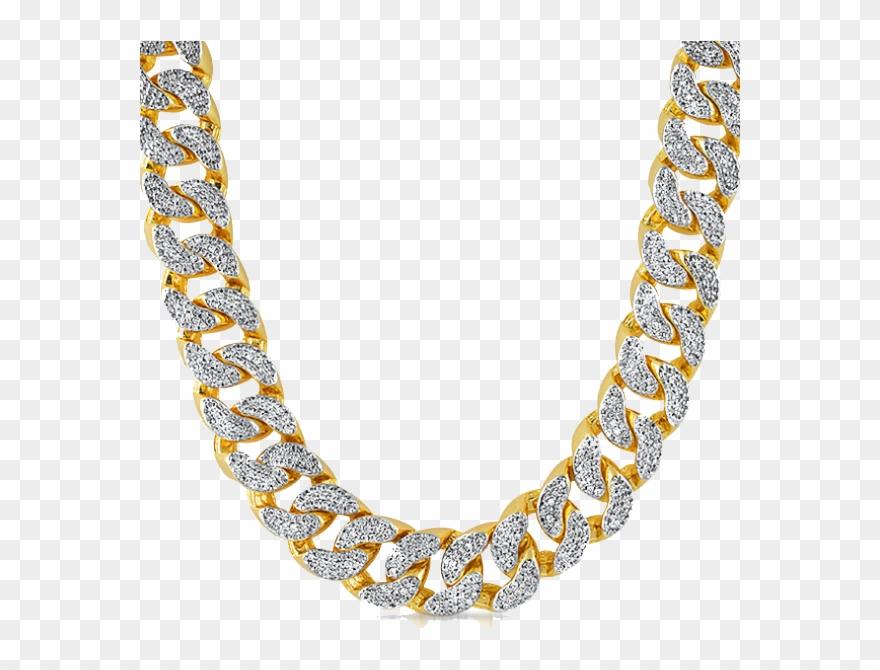 Gold diamond men png. Necklace clipart rapper