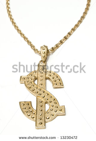Gold station. Chain clipart gangster