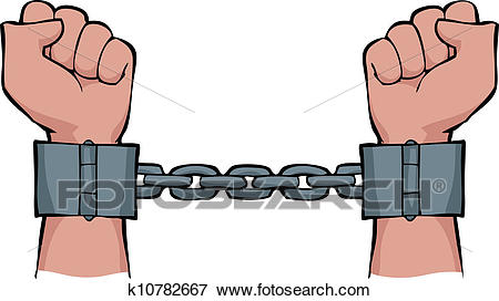 Chain clipart hand. Free download clip art