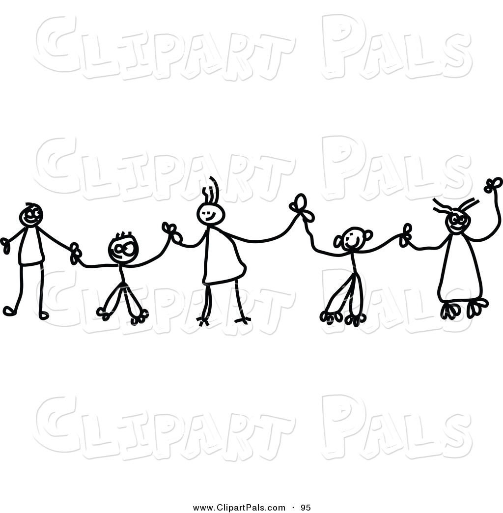 Chain clipart hand.  collection of children