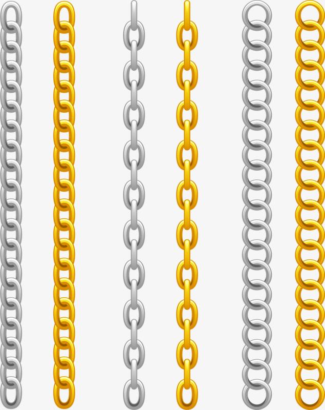 Gold chains sub golden. Chain clipart hand