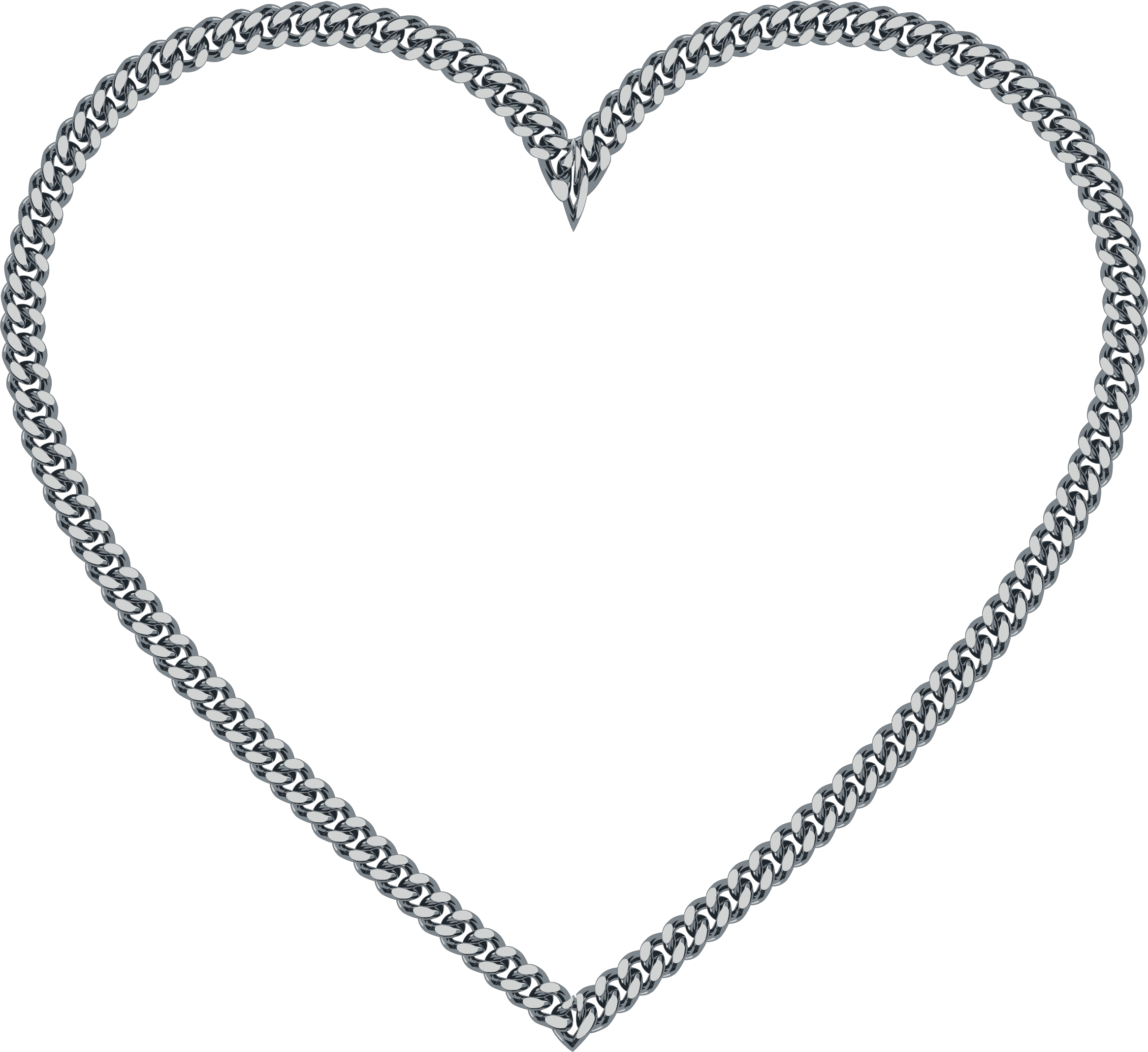 Spelling clipart chain. Heart big image png