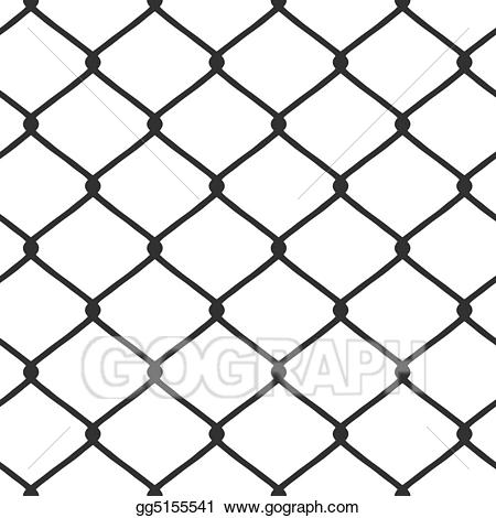 Drawing link fence gg. Chain clipart linked