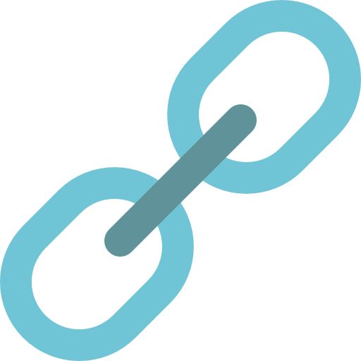 Chain clipart linked. Chains tool icon similar