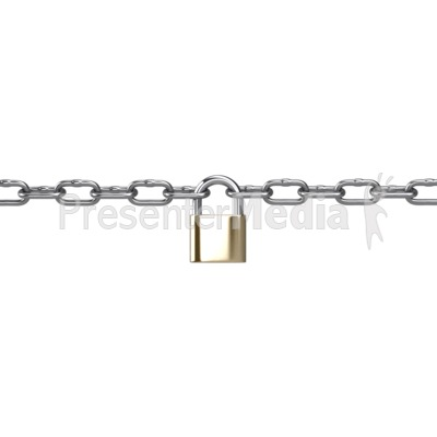 Metal connected padlock home. Chain clipart lock