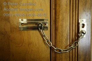 Sliding stock photography acclaim. Chain clipart lock