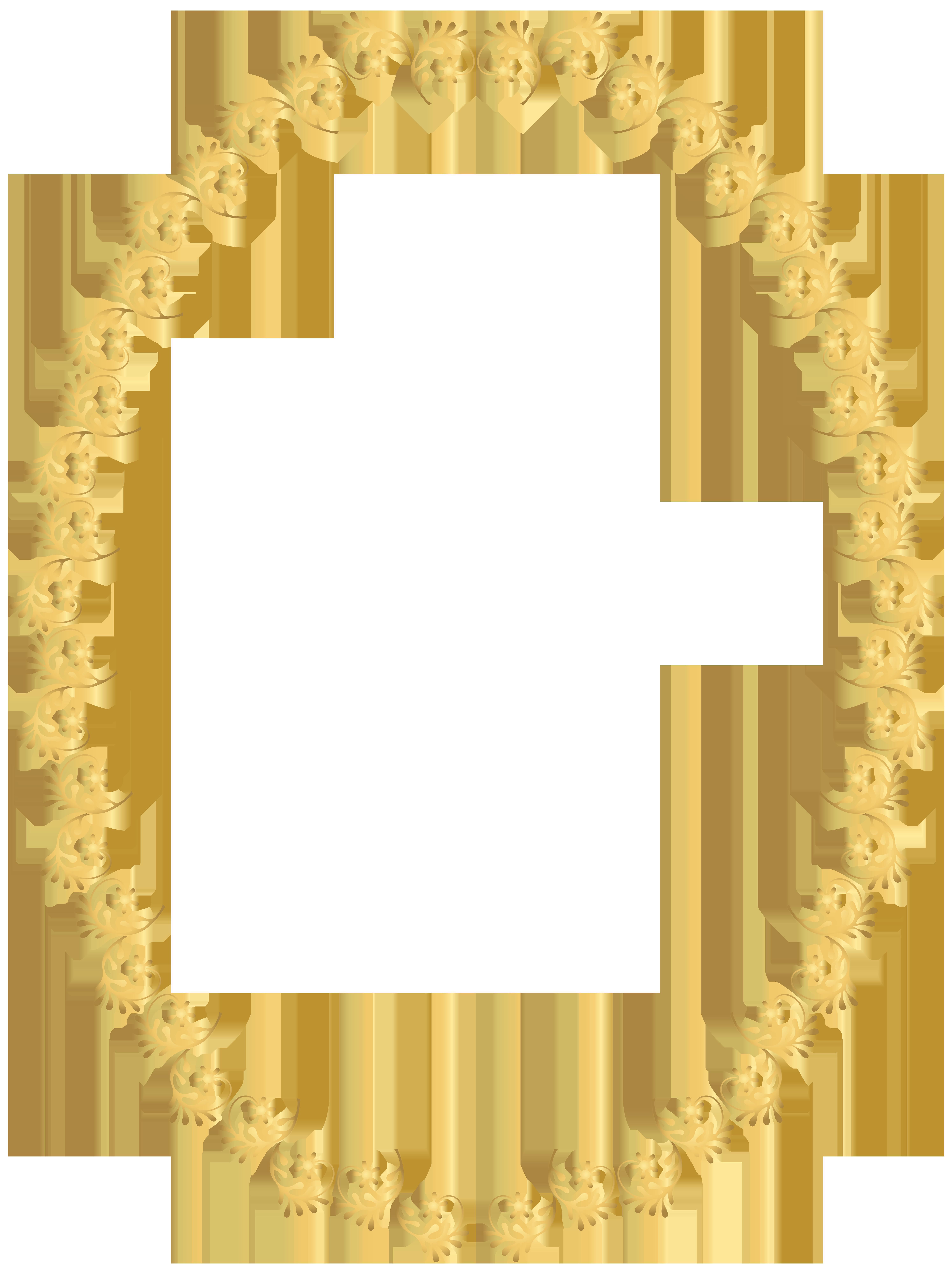 Transparent clip art image. Oval frame png