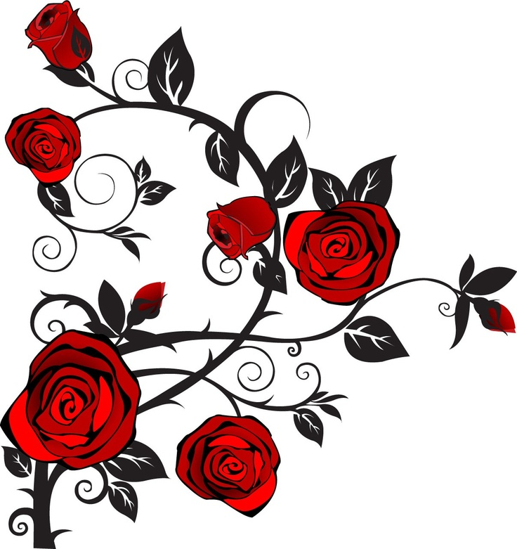 Chain clipart rose. Roses clip art for