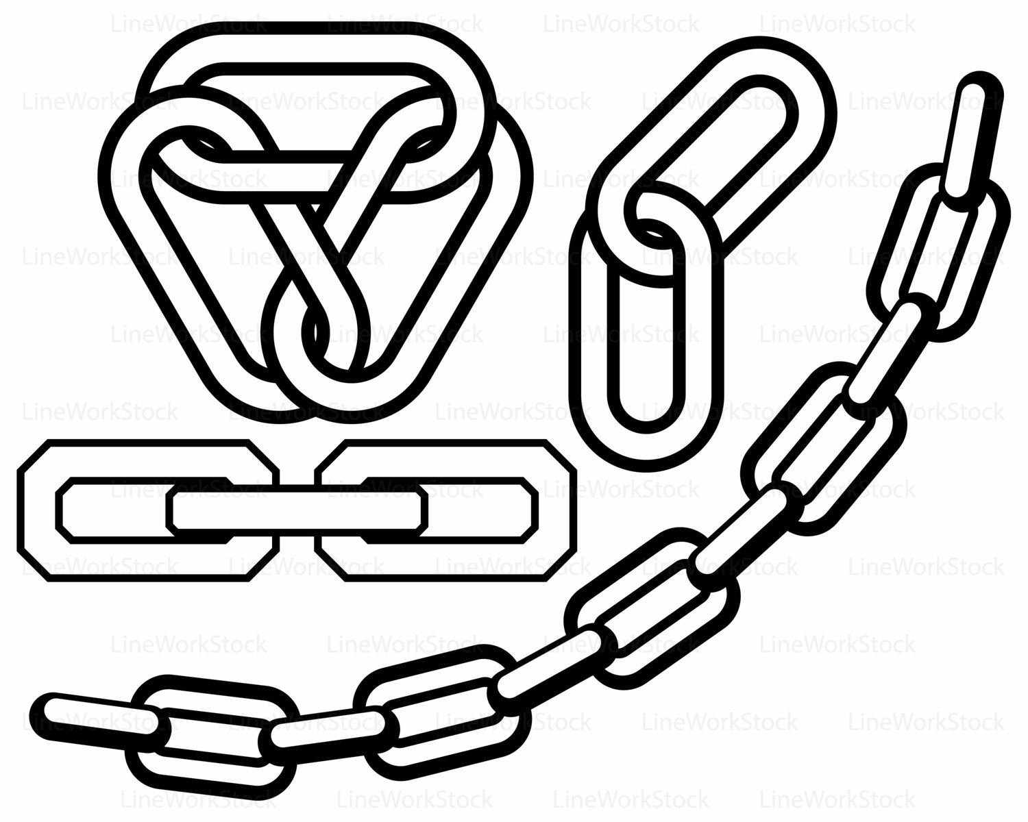 At getdrawings com free. Chain clipart silhouette