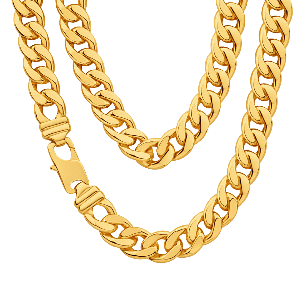 Chain clipart thug. Life gold shiny transparent