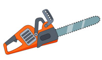 Chainsaw clipart. Free tools clip art