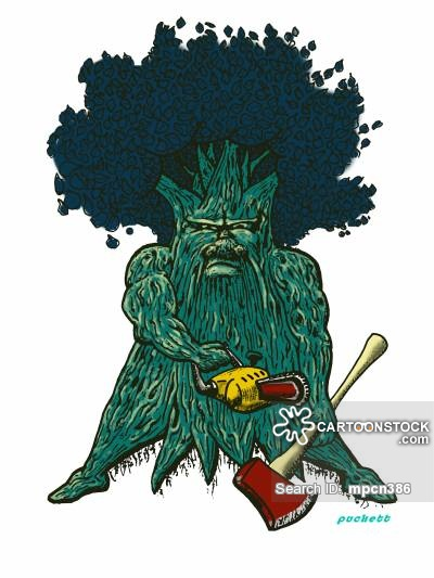 Cutting Down Trees Cartoons and Comics - funny pictures from ...