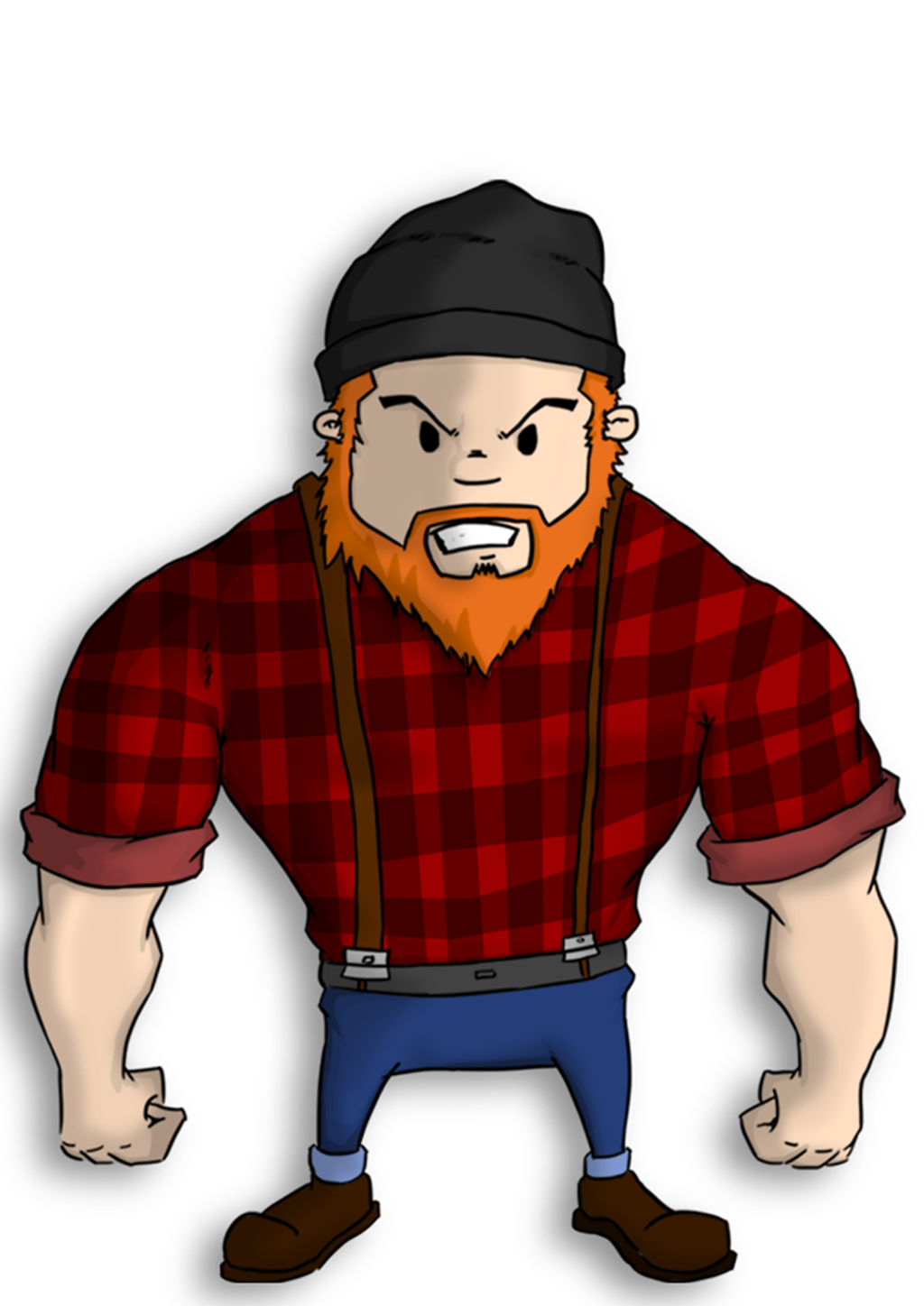 Image result for cartoon. Pioneer clipart mountain man