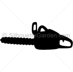 Pattern use the printable. Chainsaw clipart silhouette