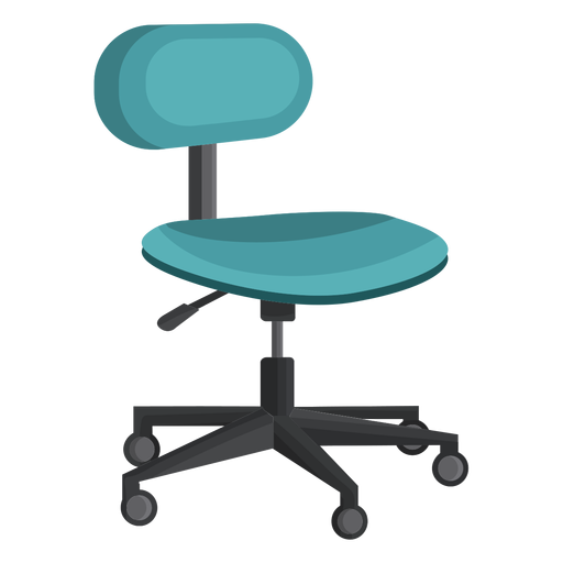 Small office chair clipart - Transparent PNG & SVG vector