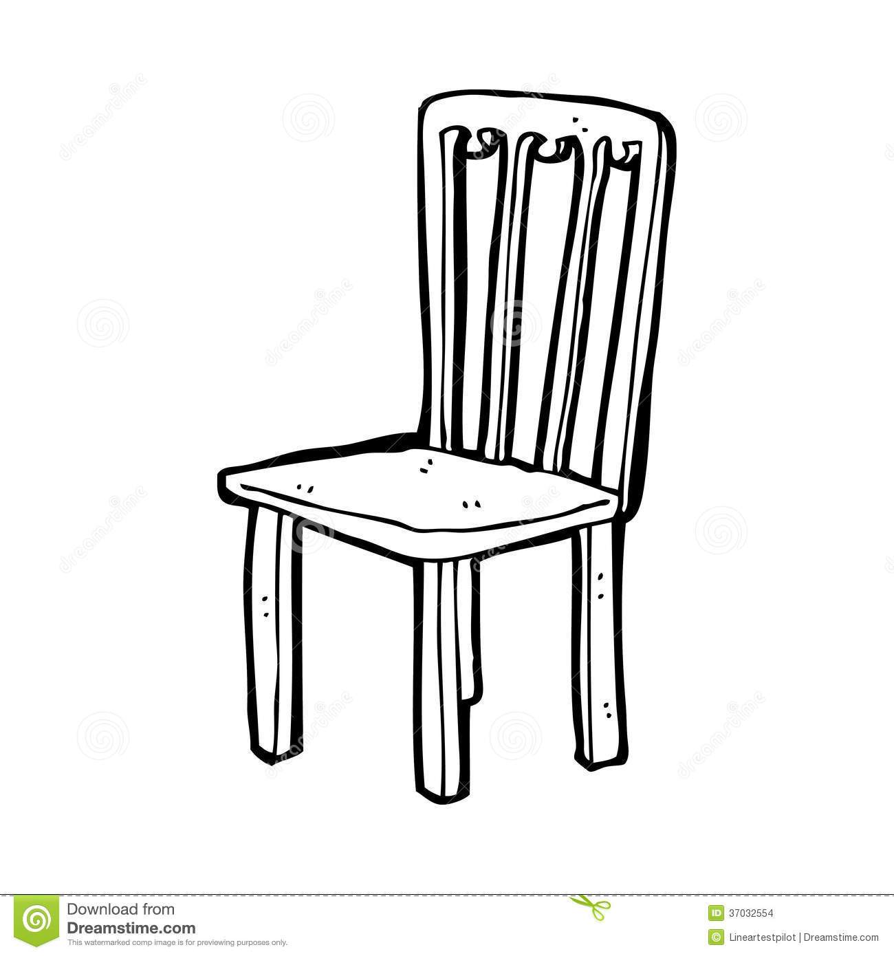 Chair Clipart Black And White Chair Black And White