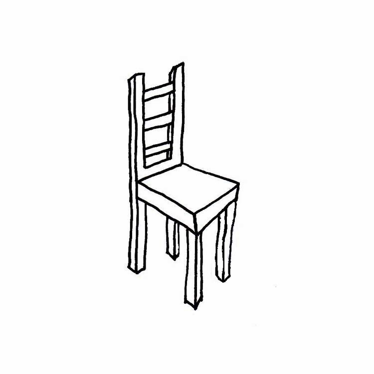 Panda free images schoolchairclipart. Chair clipart black and white
