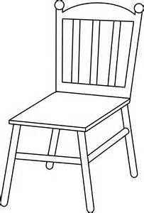 Armchair letters clip art. Chair clipart black and white