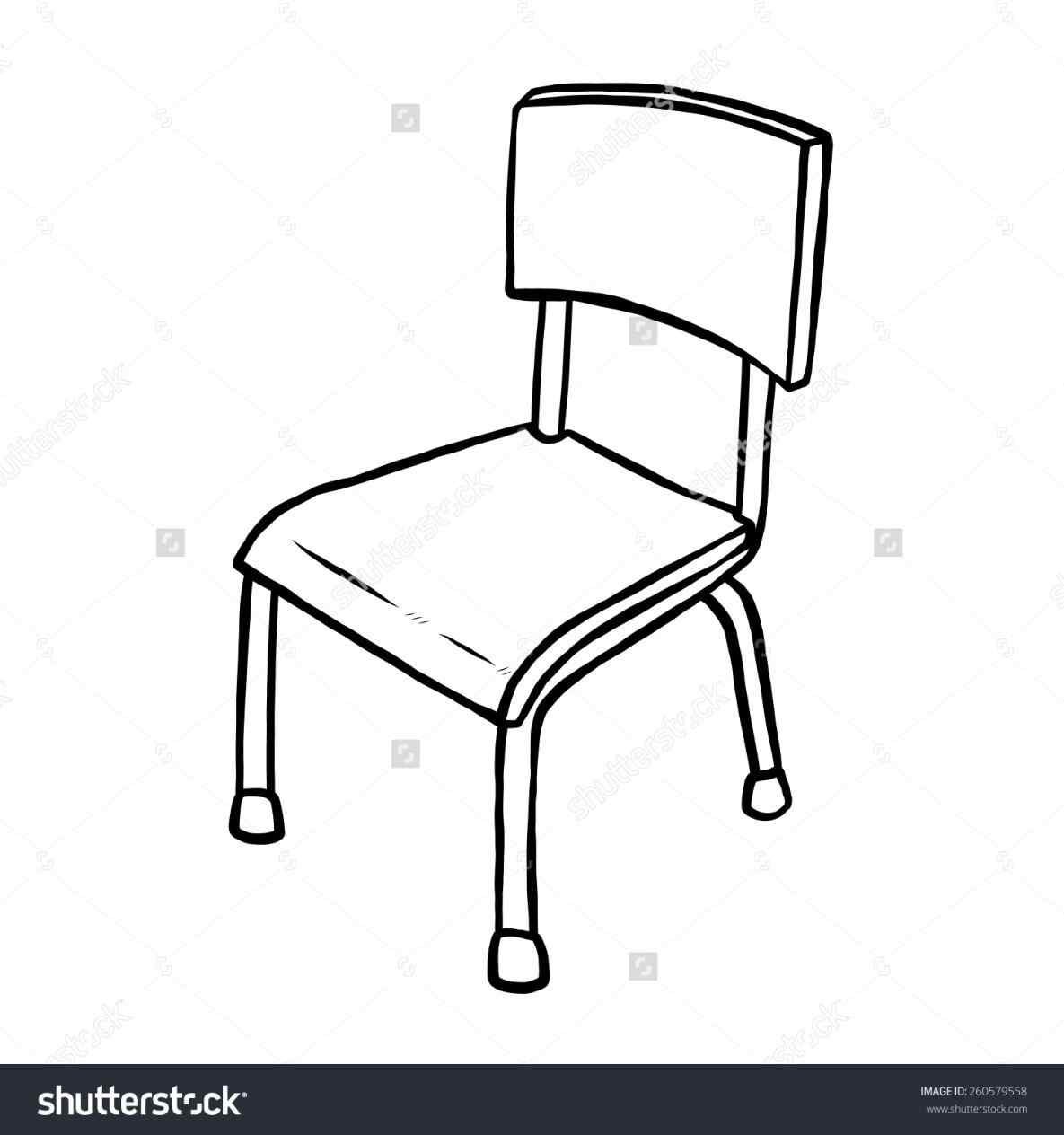 The images collection of. Chair clipart black and white