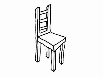 Chair clipart black and white. Free download best