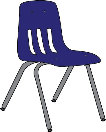 Blue chair clip art. Furniture clipart preschool
