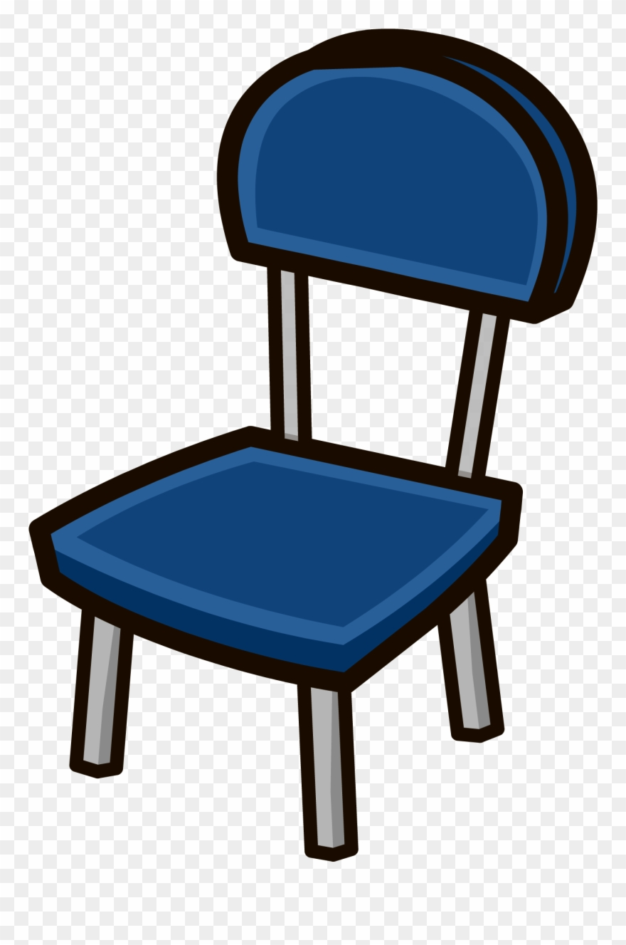 Furniture clipart blue chair. Club penguin png