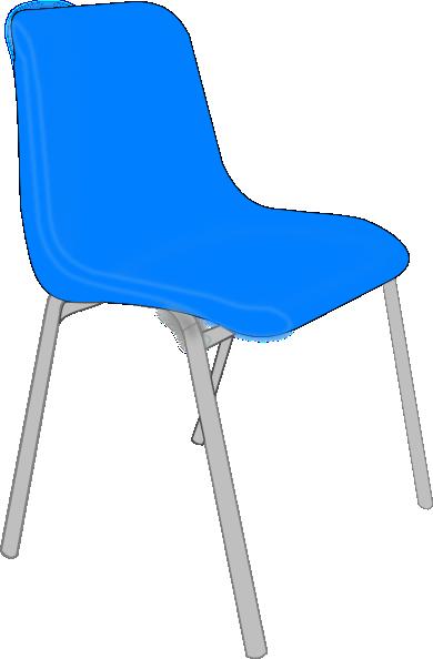 Furniture clipart blue chair. Classroom clip art panda