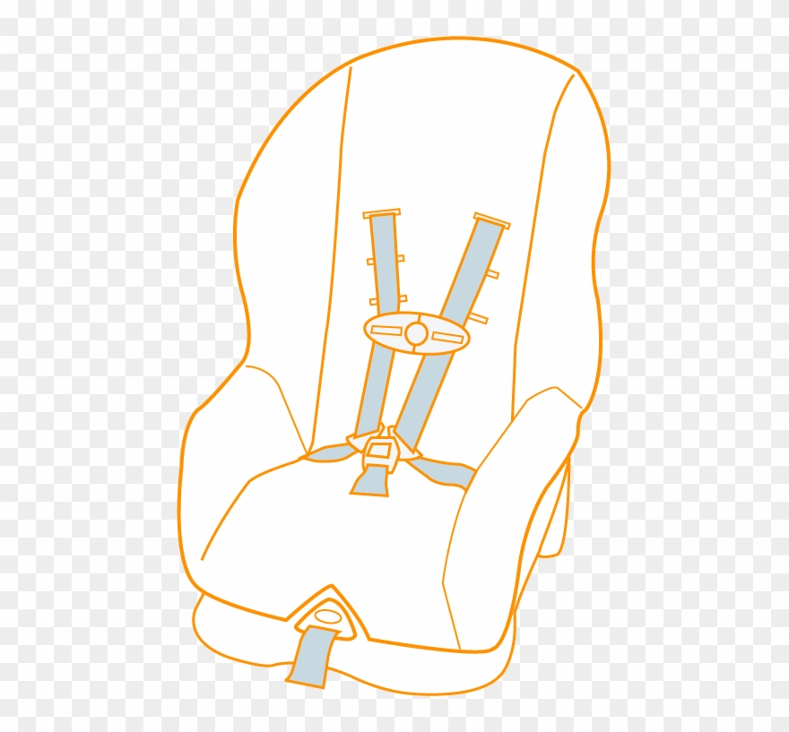 Toddler seat pinclipart . Clipart chair car