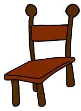 . Clipart chair cartoon