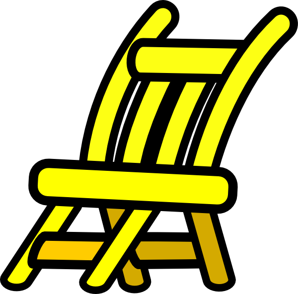 Furniture clipart vector. Chair clip art at