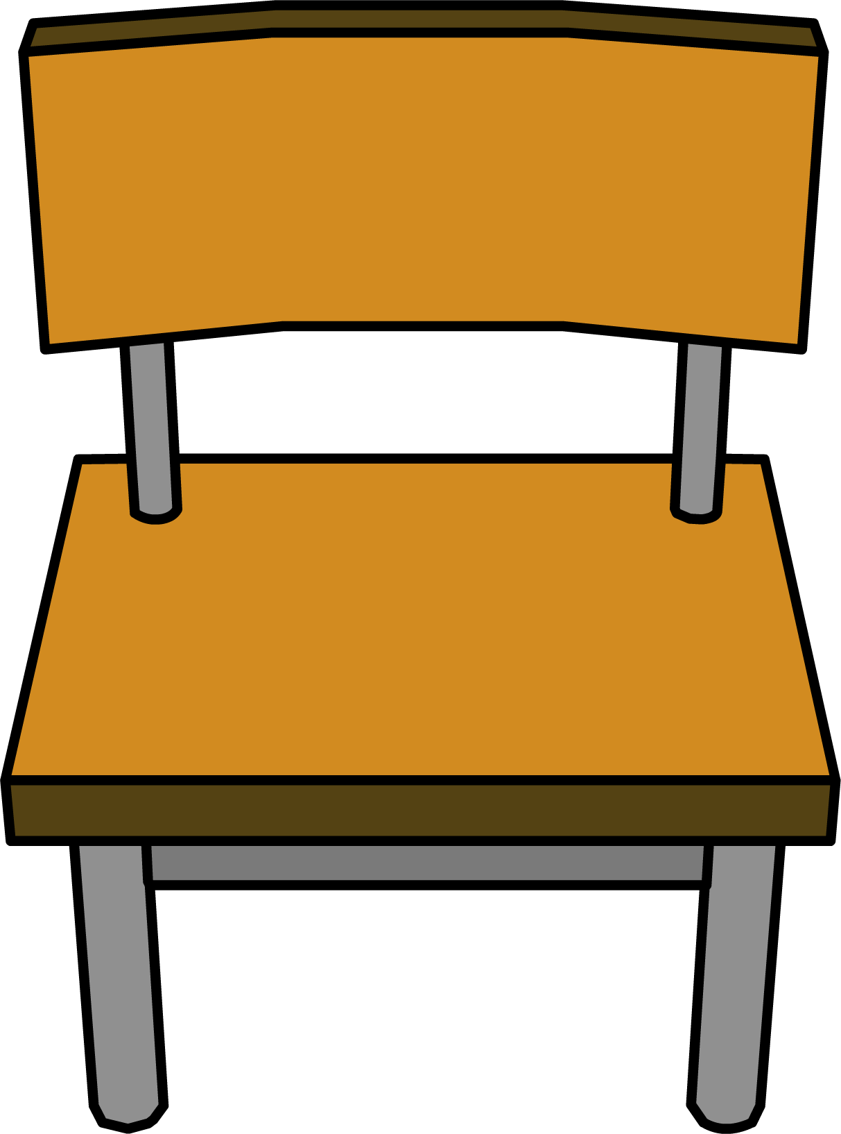 Furniture clipart furniture shop. Classroom chair club penguin