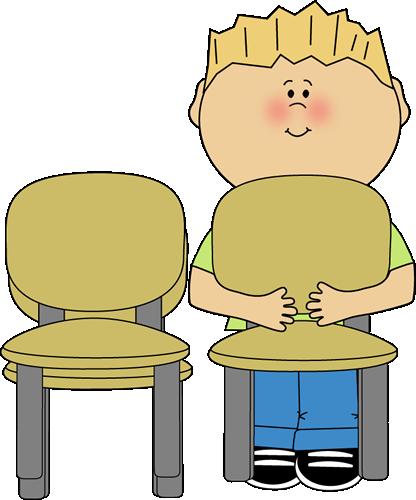 Classroom stacker clip art. Clipart chair class chair