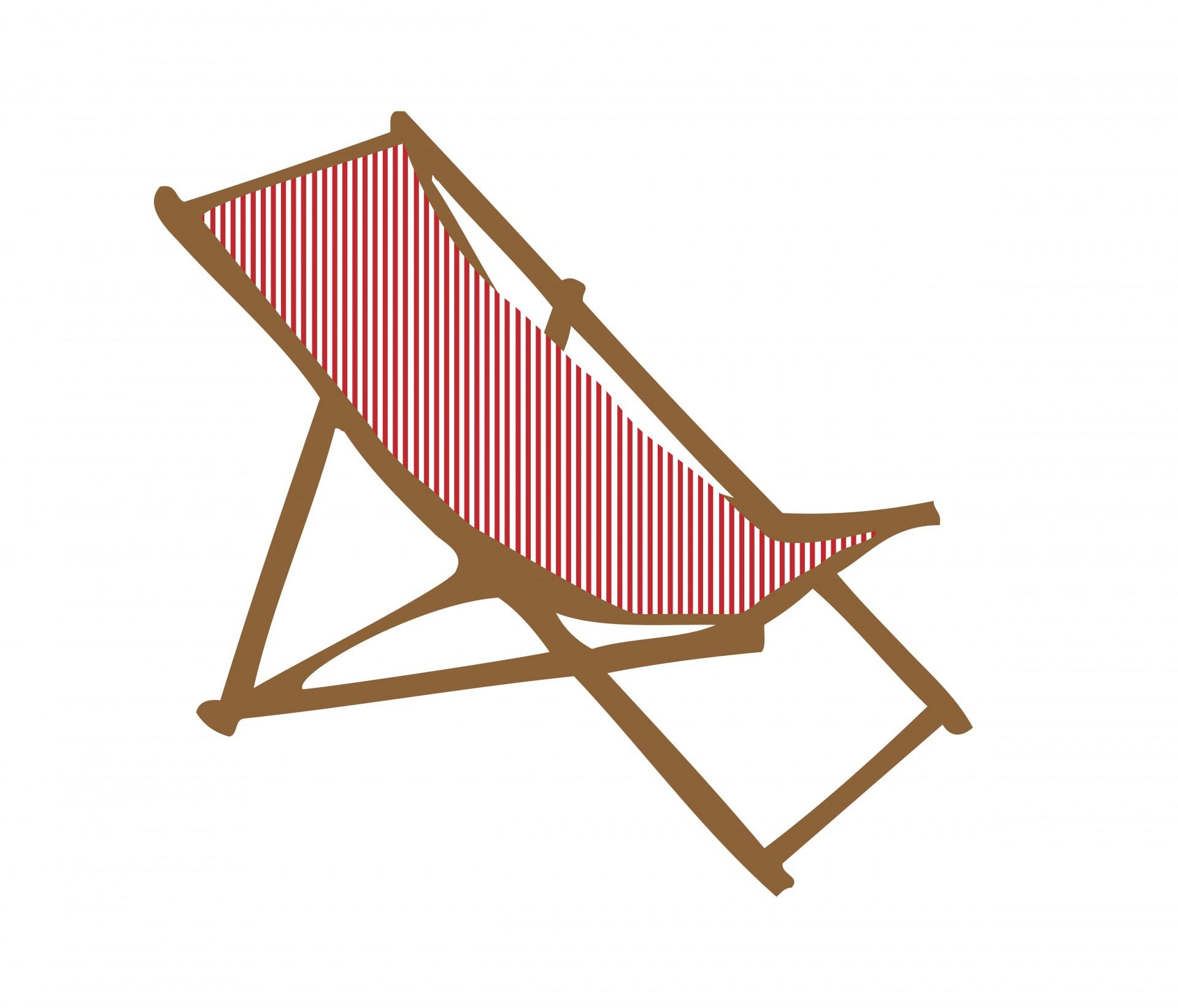 Chair clipart deck chair. Free stock photo public