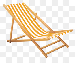 Lounge png and psd. Chair clipart deck chair