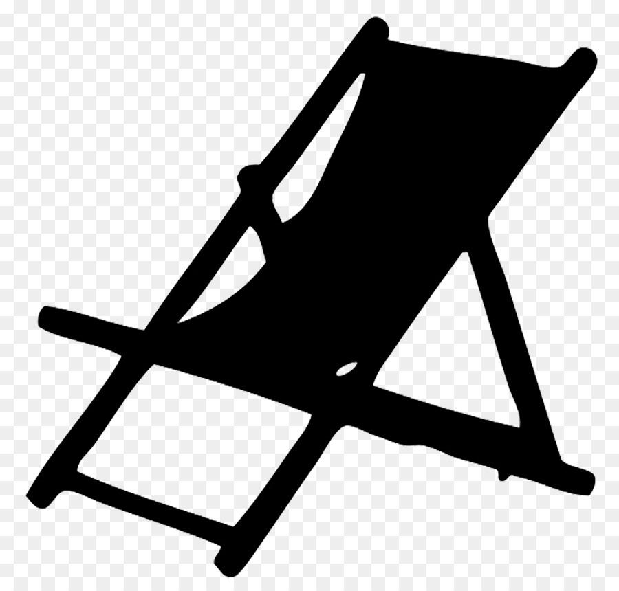 Eames lounge deckchair chaise. Chair clipart deck chair