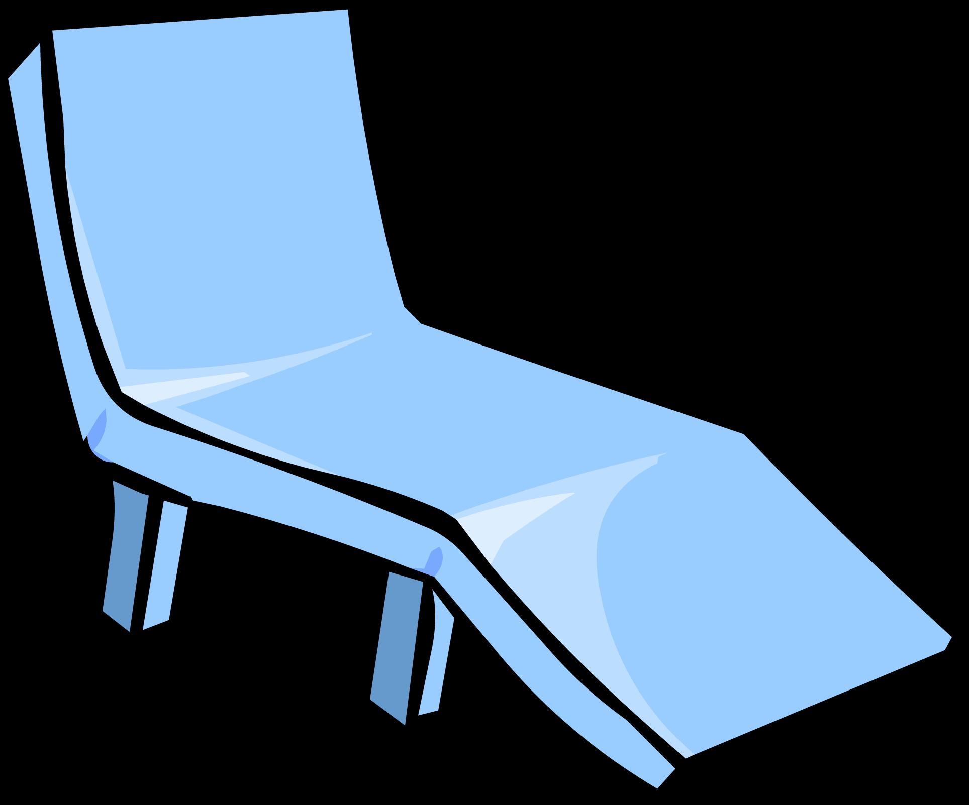 Blue club penguin wiki. Chair clipart deck chair