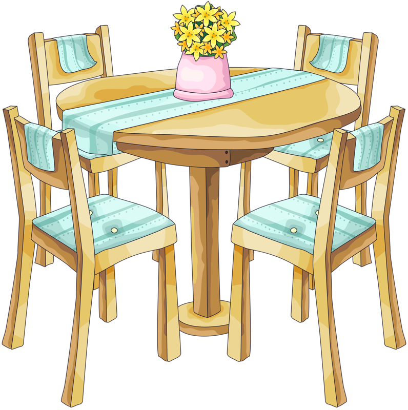 Bg png clip art. Clean clipart dining table