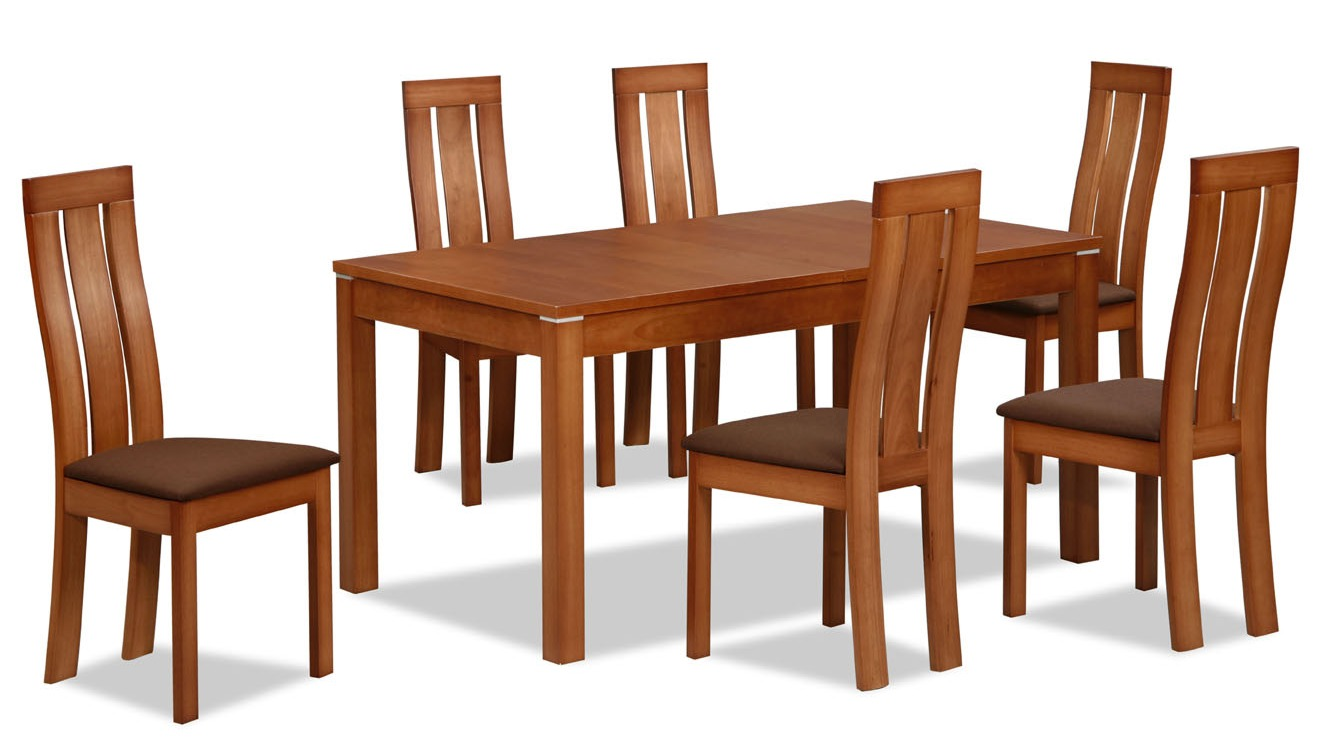 Furniture clipart dinning table. Dining room and chairs