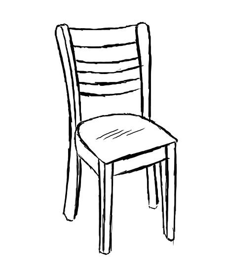 Chairs at getdrawings com. Clipart chair drawing