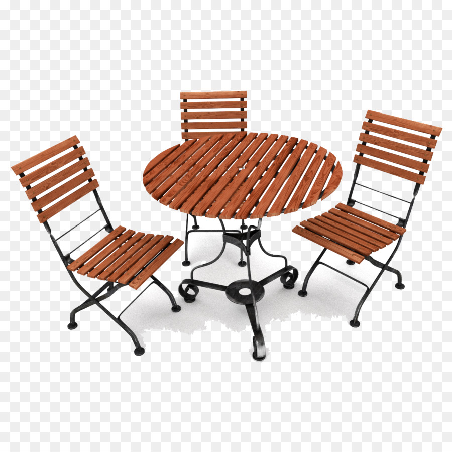 Table furniture outdoor png. Chair clipart garden chair